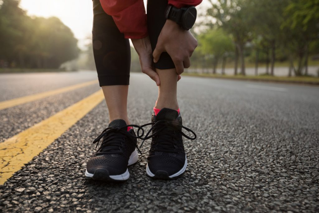 ankle pain in sports