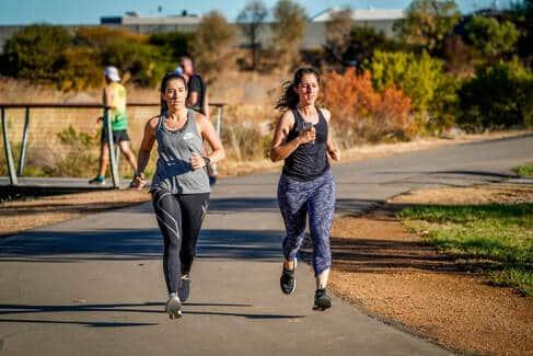 Running Heel Striking Example