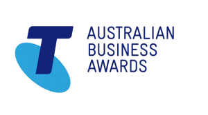 Telstra Australian Business Awards Logo
