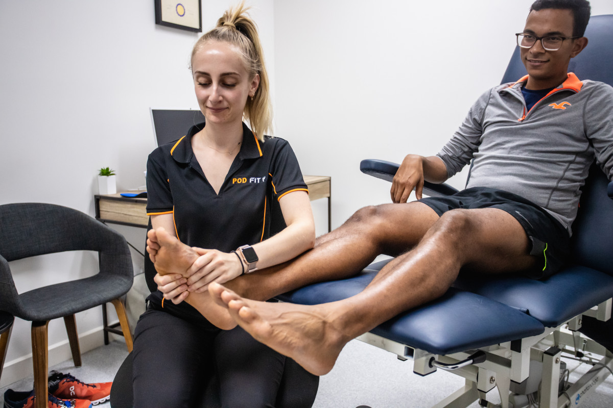 Foot Mobilisation Treatment By A Podiatrist
