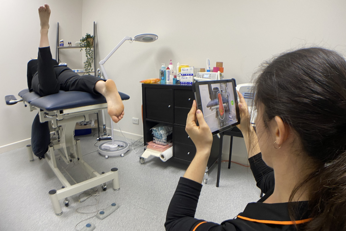 Orthotic Scan By Podiatrist 1