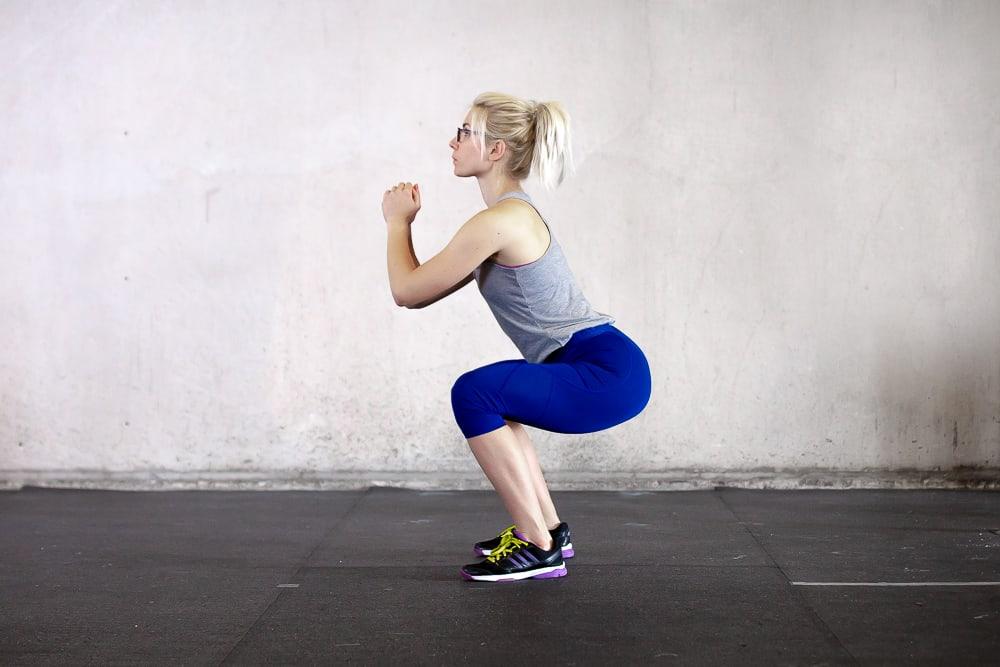 Squat Running